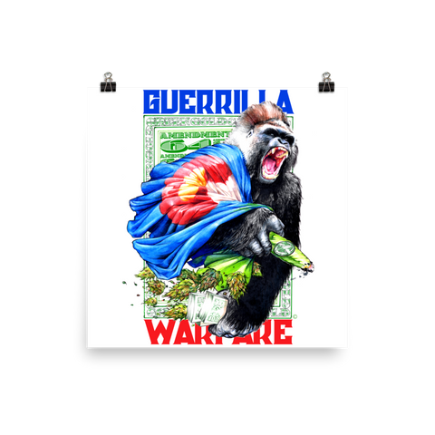 Guerrilla Warfare Art Prints