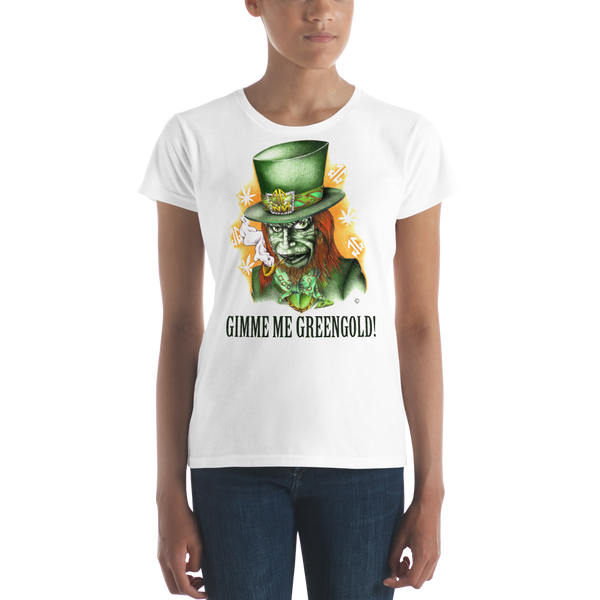 Gimme Me Green Gold Women's T-shirt