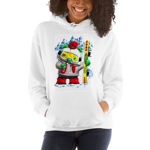 Smokeboard Bear  Pull Over Hoodie Sweatshirt (Unisex)