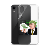 Weed Gone Crazy iPhone Case