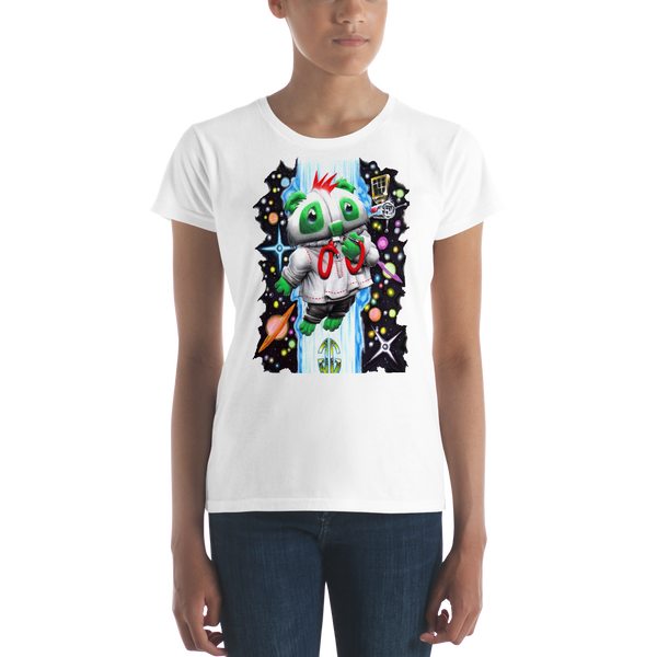 Outer Space Bear Women's T-shirt
