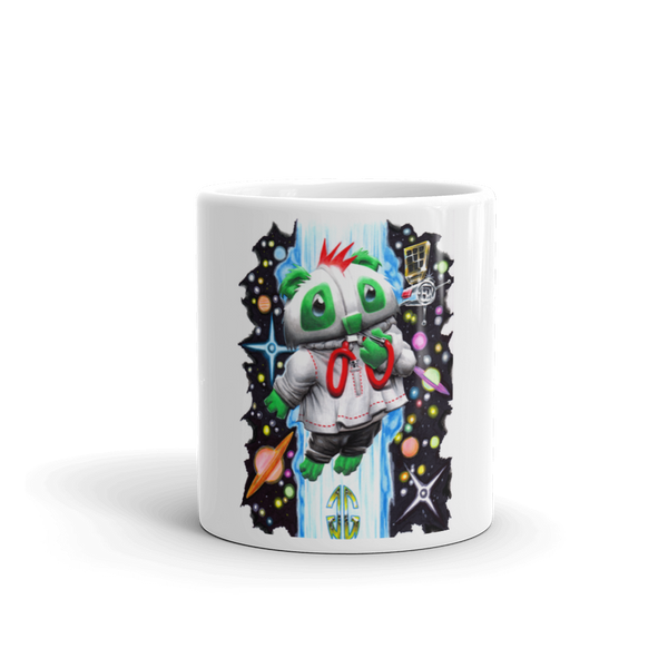 Outer Space Bear Mug