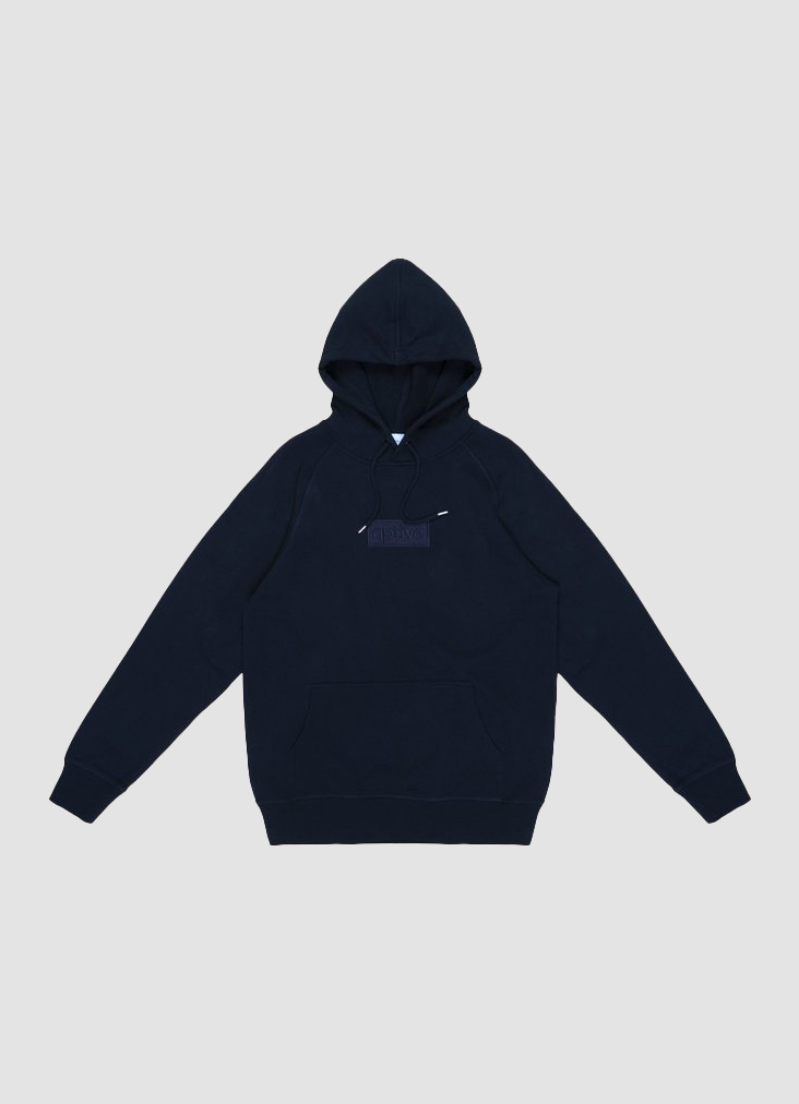 Box Logo Stealth Hood