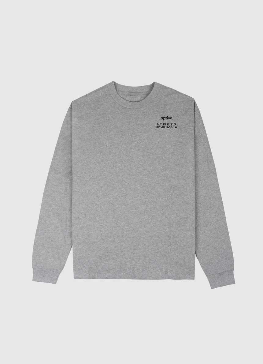 Oct. Prize Long Sleeve Dark Gray- Coordinate