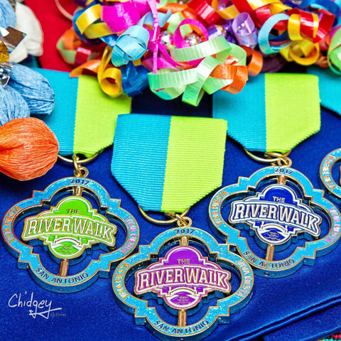 2017 Official River Walk Fiesta Medals