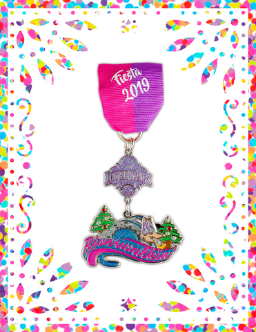 2019 Official San Antonio River Walk Fiesta Medal