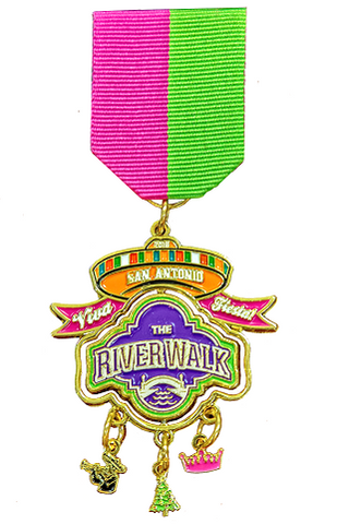 2018 Official San Antonio River Walk Fiesta Medal