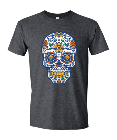 Men's River Walk Sugar Skull Tee