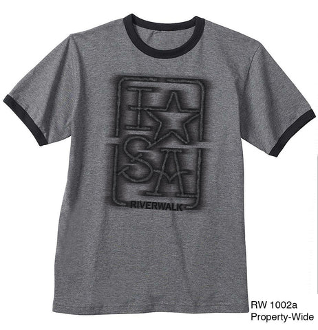 "I ""Star"" SA T-shirt - Dark Gray"