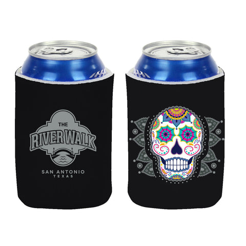 Sugar Skull Can Coozie