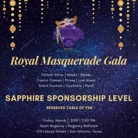 Gala Tickets $5000 Table