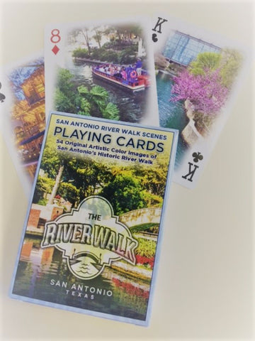 San Antonio River Walk Playing Cards