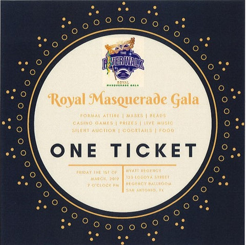 Gala Tickets Individual Ticket: $80 (open seating)