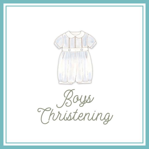 Christening Wear For Boys