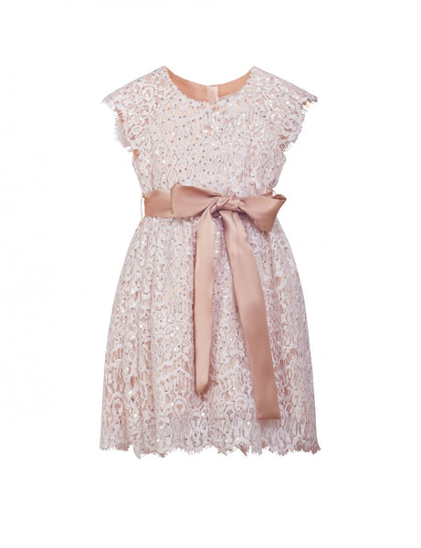 LunaLuna Collection Angel Dress (Champagne)
