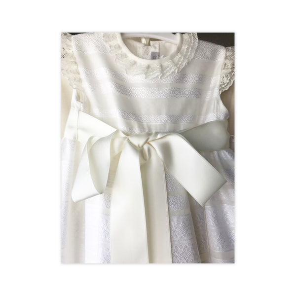 Christening GOWN 2402 (MEDIUM Length)