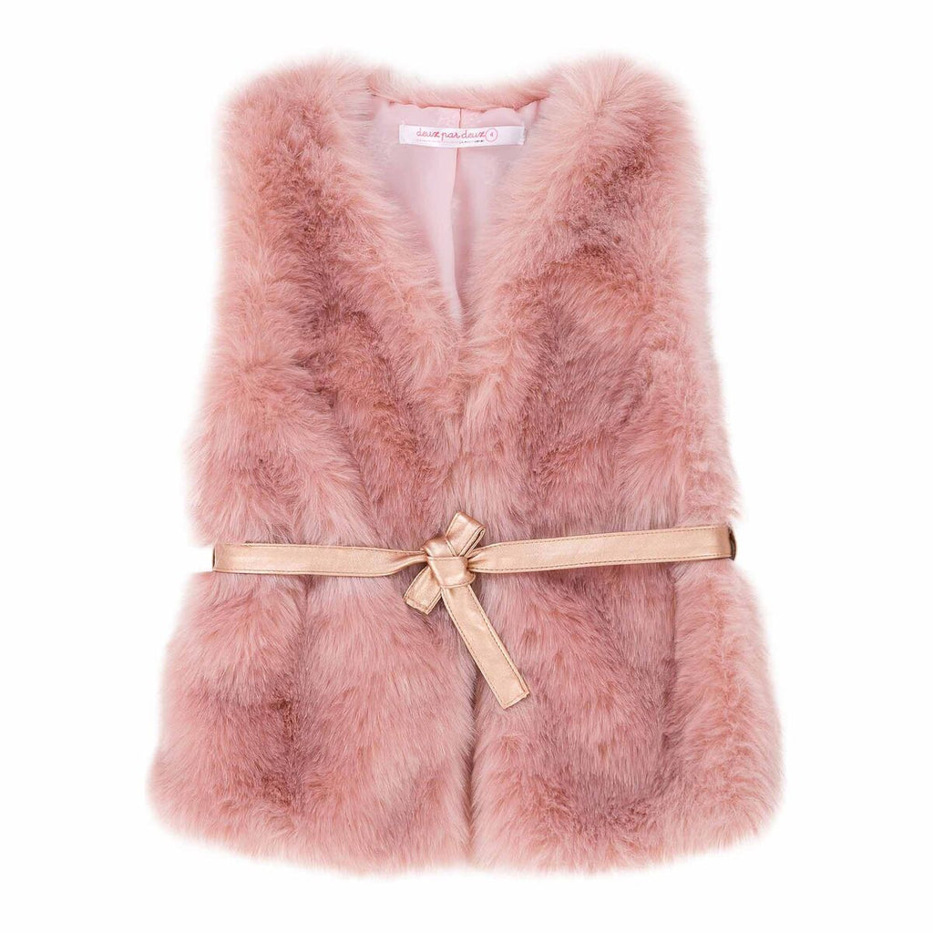 Dancing Queen Faux Fur Vest