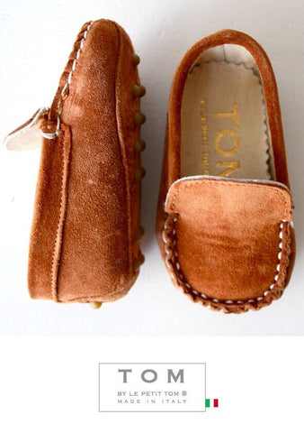 Boys Moccasin Brown(FINAL SALE)