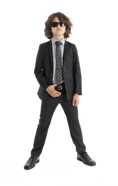 Boy's Mod Suit (Black)