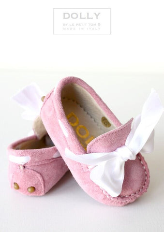 Baby Moccasin and Bow (FINAL SALE)