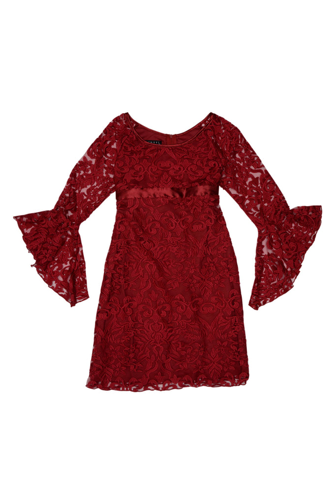 Biscotti Luxe Lace Dress (Bell Sleeve) FINAL SALE