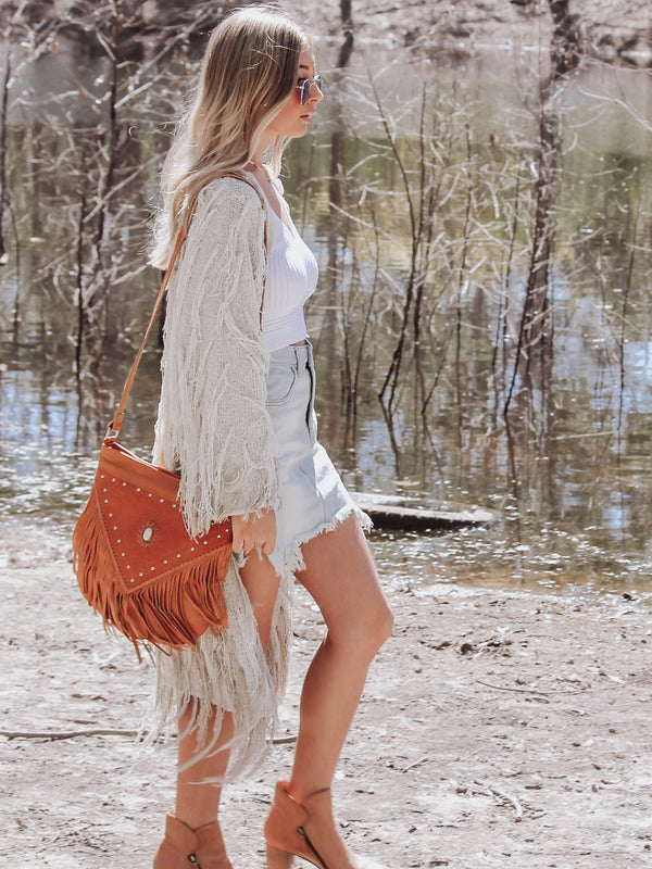 Harlow Fringed Bag -