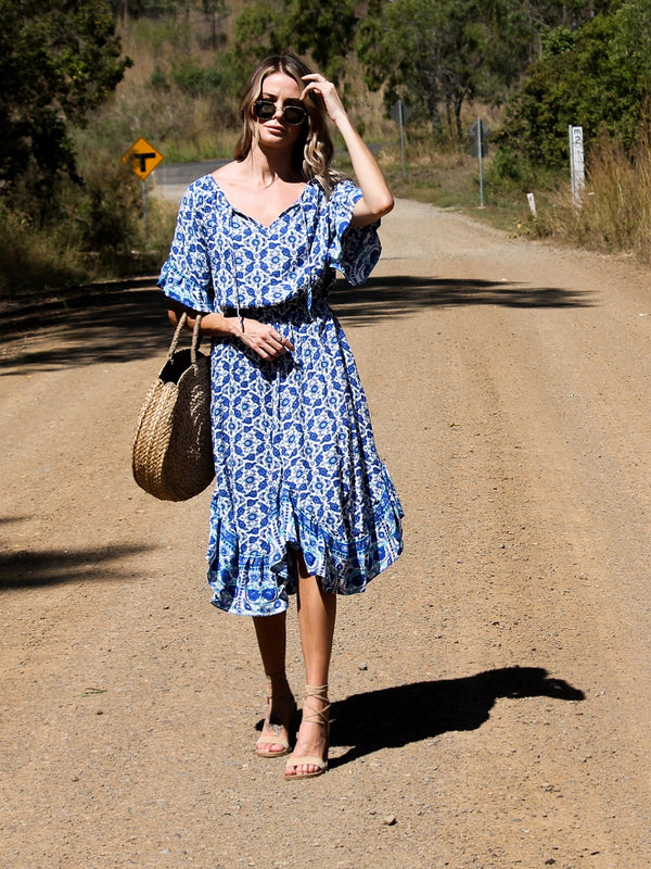 Betty Blue Dress