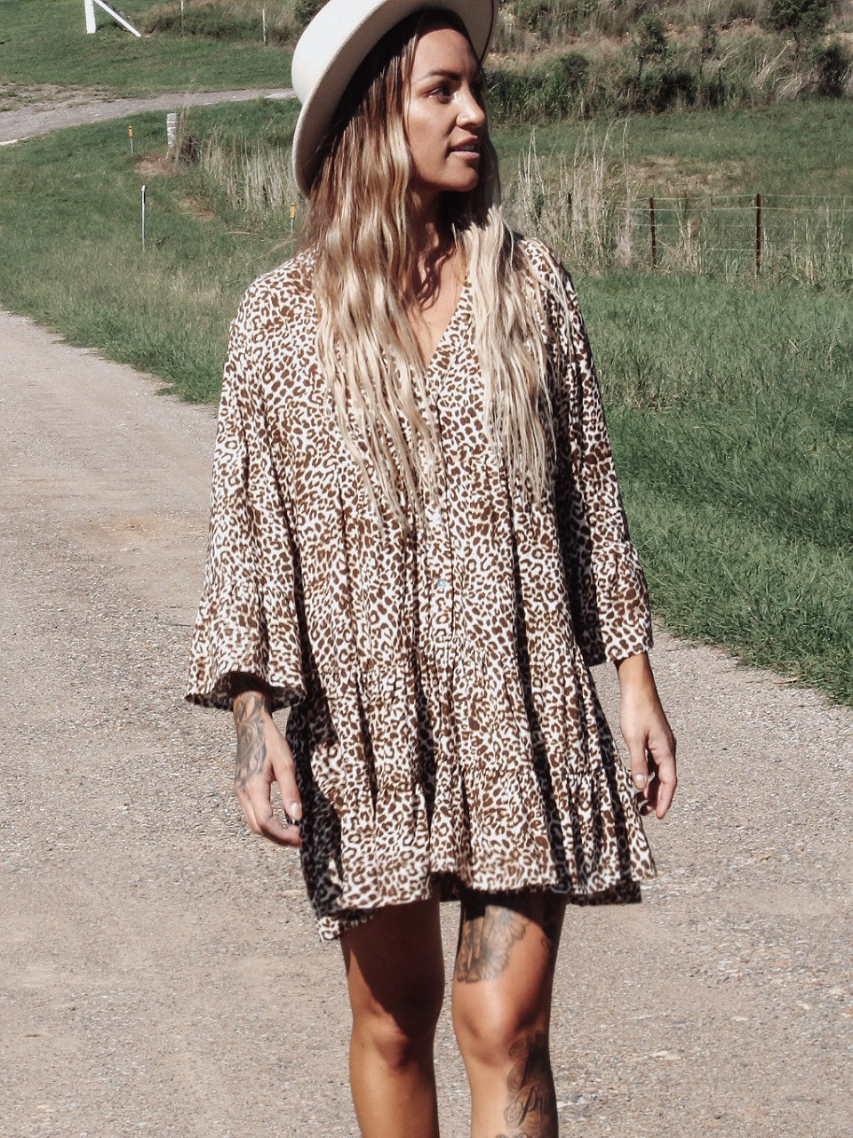 Kenya babydoll dress