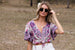 Lilac bloom Blouse