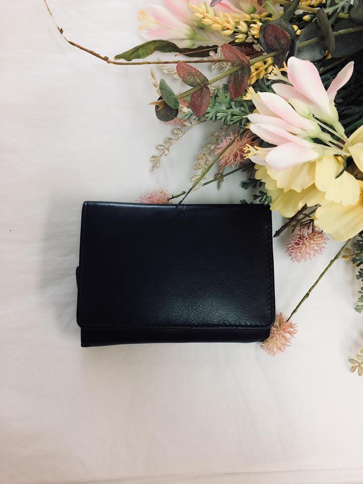 Ruby Wallet - Black