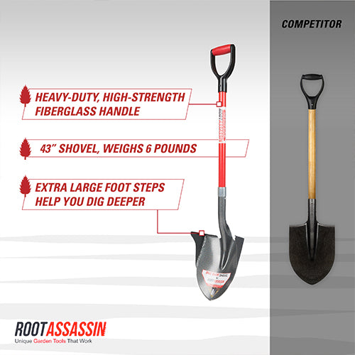 One Shot Shovel- 43""