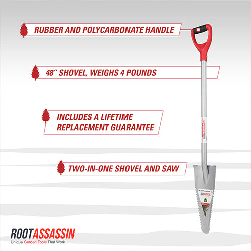 "Root Assassin Shovel 48"" - Shovel & Saw"