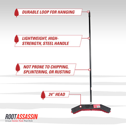 standing push broom schematic