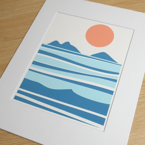 "Load image into Gallery viewer, Mokes Print (8"" x 10"")"