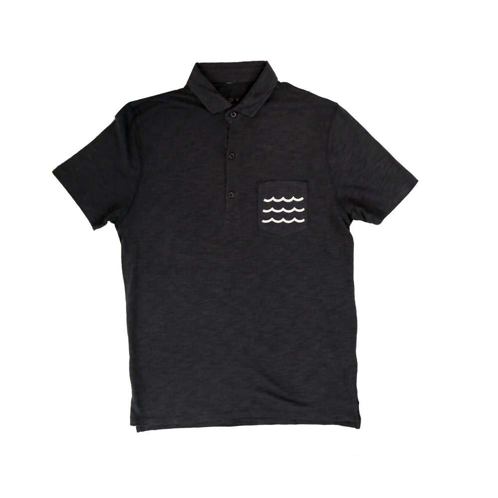 Wave Pocket Polo