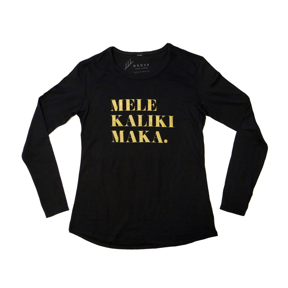 Load image into Gallery viewer, Mele Kalikimaka - Women's Long Sleeve Tee