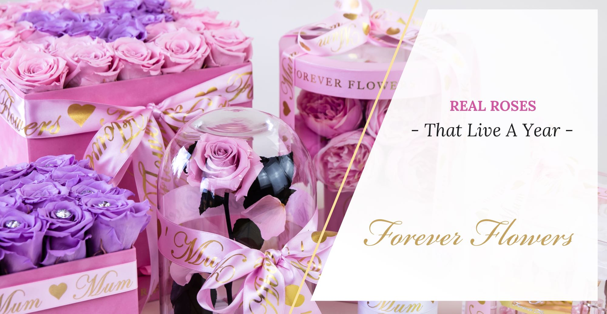 Foever Flowers Indulence Box Close Up