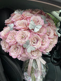 'Camelot Infini Fausse' MEDIUM and LARGE Rose Bouquet - Artifical Silk