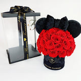 Disney Mickey & Minnie Mouse Preserved Roses