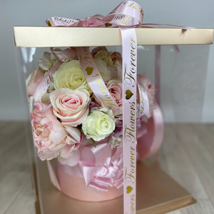 The 'Let Love Bloom' Box - Artificial Silk