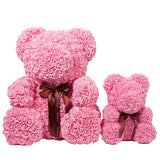 'Rose Teddy Bears' SMALL & LARGE - Foam Roses