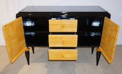 open-view-art-deco-black-yellow-sideboard-708pe
