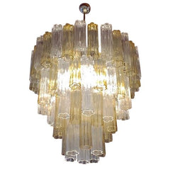 Amber-Crystal-Tronchi-Glass-Chandelier