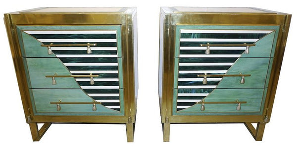 italian-geometric-green-ivory-brass-chests