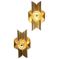 Vintage-Folded-Brass-Sconces