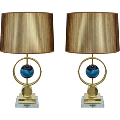 round-agate-stone-gold-lamps-italian