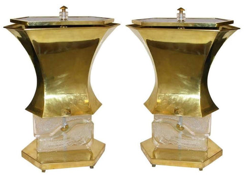 gucci-1980s-italian-pair-of-modern-gold-bronze-and-glass-lamps