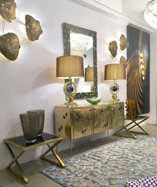 gold-accents-brass-bronze-entrance-cosulich-interiors-nyc-showroom