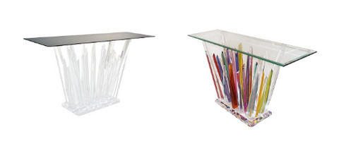 rock-acrylic-multicolor-console-with-clear-bevelled-glass-top-799p