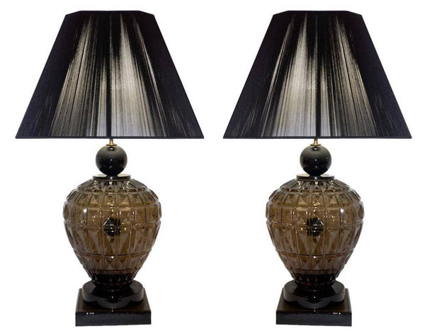 Vivarini-1970s-Italian-special-Pair-Black-Lamps